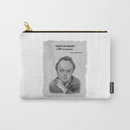 Christopher Hitchens Carry-All Pouch
