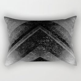 Black Magic Rectangular Pillow