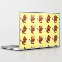 turkey Laptop & iPad Skins featuring 1st Turkey by KristenOKeefeArt