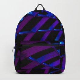 Glowing Neon Flower Backpack