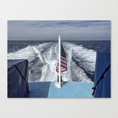 Salute color Canvas Print