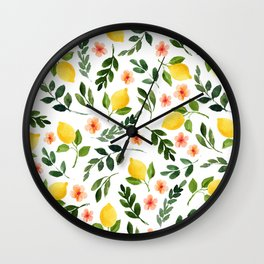 Lemon Grove Wall Clock
