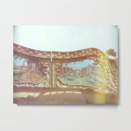 Carousel - summer edtition  Metal Print