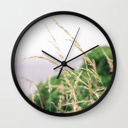 Wisps in the Wind Wall Clock