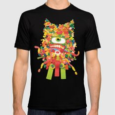 Sweet Monster Black Mens Fitted Tee MEDIUM