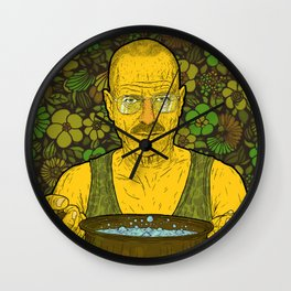 Cook (green) Wall Clock