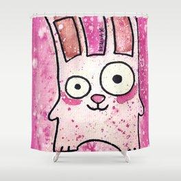 Freezer Bunny Shower Curtain