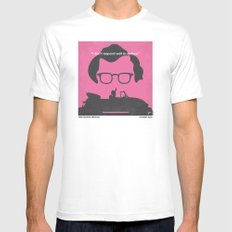 No147 My Annie Hall minimal movie poster Mens Fitted Tee SMALL White