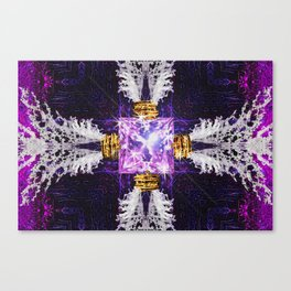 Embrace Purple Canvas Print