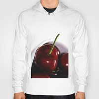 cherry Hoodies featuring Cherry by LoRo  Art & Pictures