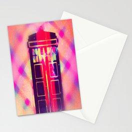 Tardis Leaks Stationery Cards