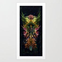 Space Bud Art Print