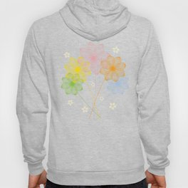 Blooming Flowers Hoody