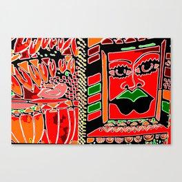 Big Up! Africa! Canvas Print
