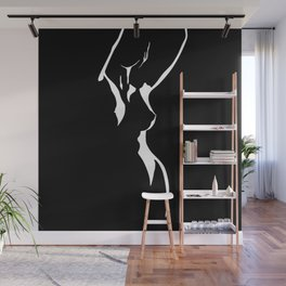 Nude Shadow Wall Mural