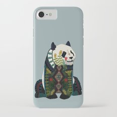 panda silver Slim Case iPhone 7