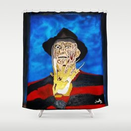 Freddy's Home Shower Curtain