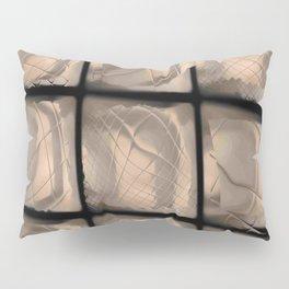 Window moving in the dark Pillow Sham