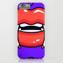 Vampire Funny Halloween iPhone Case