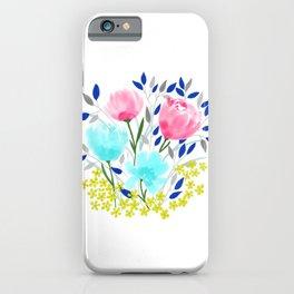 Spring Roses Bouquet iPhone Case