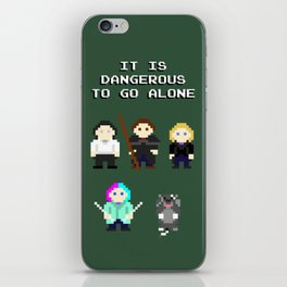 Team Dresden: It Is Dangerous To Go Alone iPhone Skin