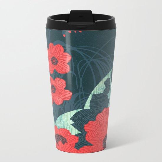 Ruby Metal Travel Mug