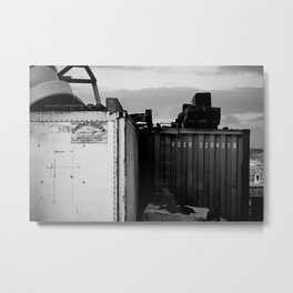 Padstow Containers Metal Print