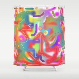 In Limbo DESIGN PATTERN Shower Curtain