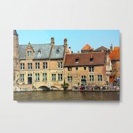 Bruges 4 Metal Print