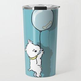 Hungry Westie Puppy Travel Mug