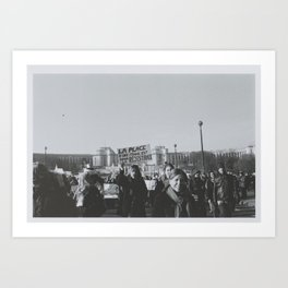 A Woman's Place is in the Resistance. Art Print