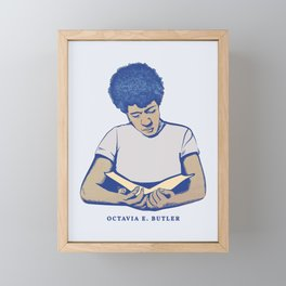 Octavia E. Butler Framed Mini Art Print