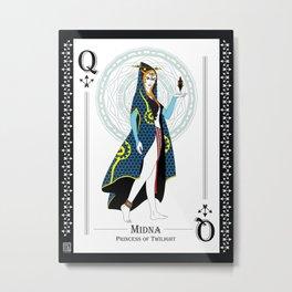 Midna - Hylian Court Legend of Zelda Metal Print