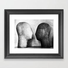 Bipolarism Framed Art Print