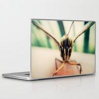 moth Laptop & iPad Skins featuring moth by Sookie Endo