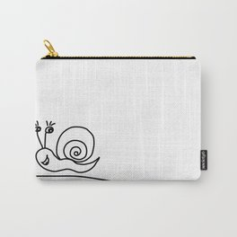 Funny Little Snail Carry-All Pouch