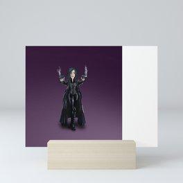Selene, Vampire Death Dealer Mini Art Print