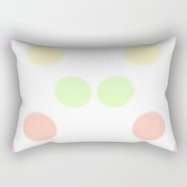art, colors, circles, abstract, young design, forever 16 Rectangular Pillow