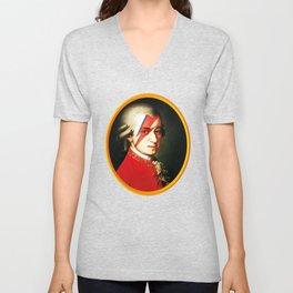 Mozart Bowie Unisex V-Neck