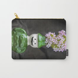 Small Green Vase Carry-All Pouch