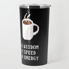 Coffee and stats Travel Mug