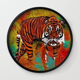 Tiger Wall Clock