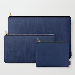 Navy Blue Minimalist Carry-All Pouch