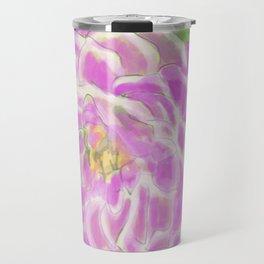 Rose dahlie flower big Travel Mug