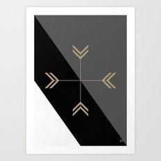 NAVAJO - WISDOM Art Print