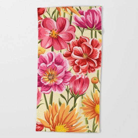 Flower Power vol.2 Beach Towel