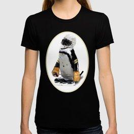 Little Mascot Hockey Player Penguin T-shirt