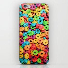 Fruit Loops Cereal iPhone Skin
