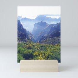 Blue Mountains Mini Art Print