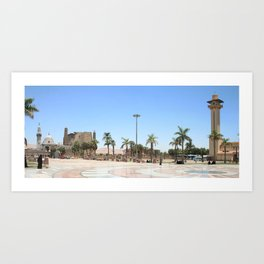 Temple of Luxor, no. 17 Art Print